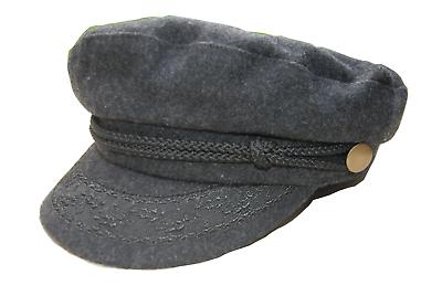 Griechische Fischermütze Kapitänsmütze 56-59 bretonische Kappe,Elbsegler mütze