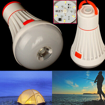 Outdoor Hanging Tent Light Bulb Camping Fishing Lantern Lamp Eco Orb  6+1 LED