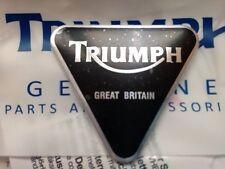 Triumph Sissy Bar Triangular Logo Badge
