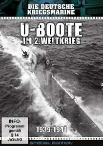 U-BOOTS-AU-2-second-GUERRE-MONDIALE-1939-1941-l-allemand-Marine-de-Boite-DVD