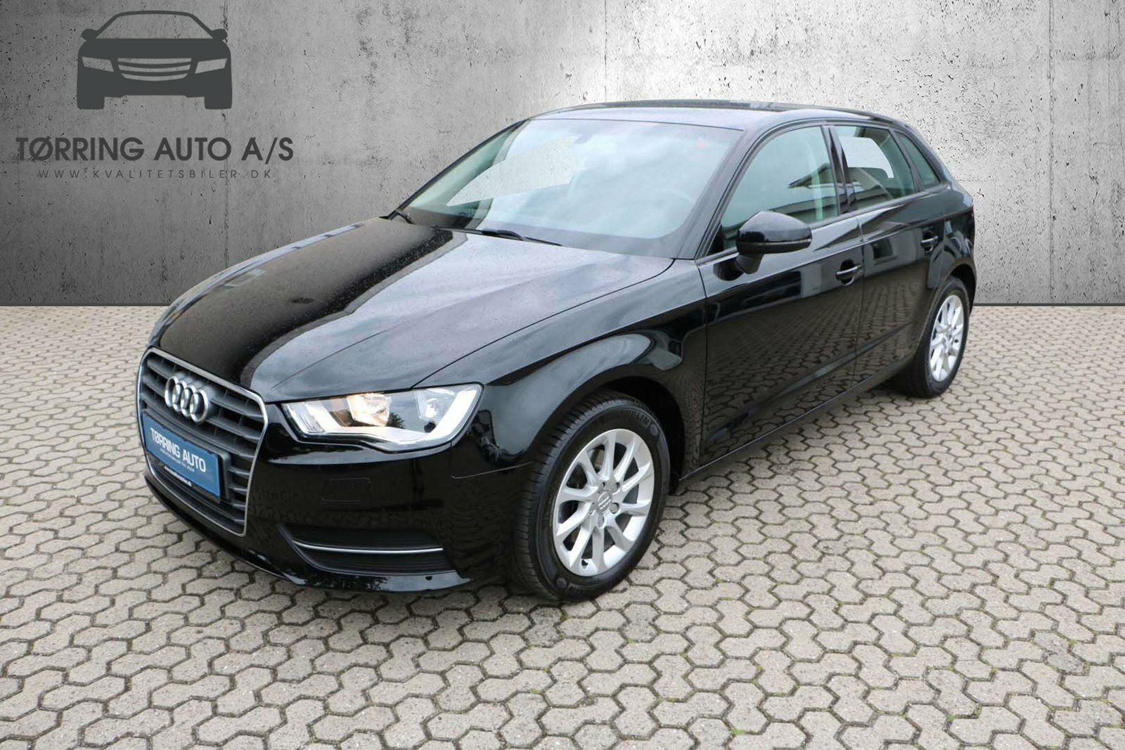 Audi A3 1,6 TDi 110 Attraction SB 5d - 178.900 kr.