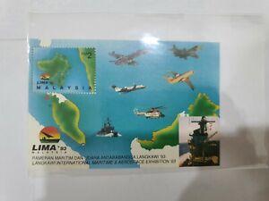 Malaysia-1993-Langkawi-International-Maritime-amp-Aerospace-Exhibition-MS-MINT-MNH