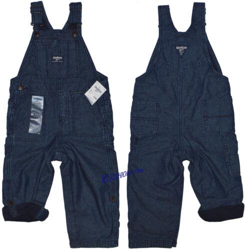 Oshkosh B /'gosh patta pantaloni Overall Bambini Jeans Blu TASCHE molti 100/% COTONE