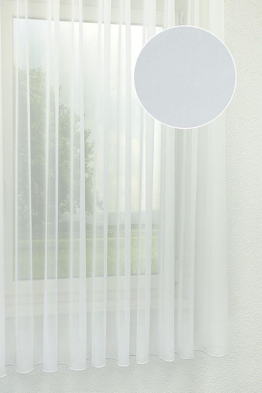 Lysel Gardinen Stores Soft Look  weiß   Modisch  Modisch  Modisch  4061ab