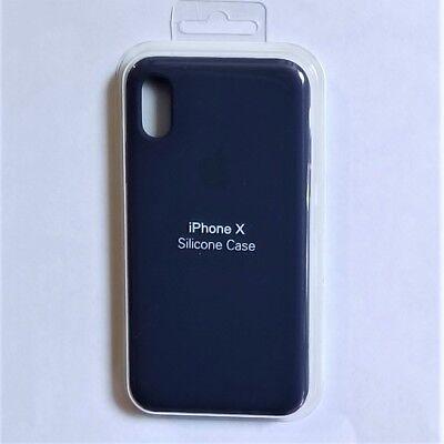Funda Iphone X 10 - Silicona Case Azul Cobalt - Blue Cobalt
