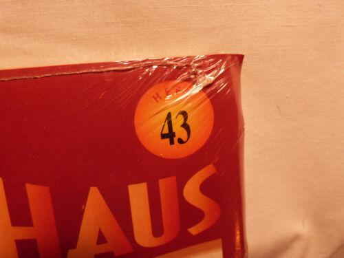 Maßstab 1:12 NEU Del Prado Puppenhaus rote Serie Heft 43 OVP Spielhaus
