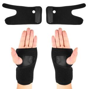 Black Wrist Brace Support Splint Fractures Carpal Tunnel Sprain Pain Support UK - Essex, United Kingdom - Black Wrist Brace Support Splint Fractures Carpal Tunnel Sprain Pain Support UK - Essex, United Kingdom