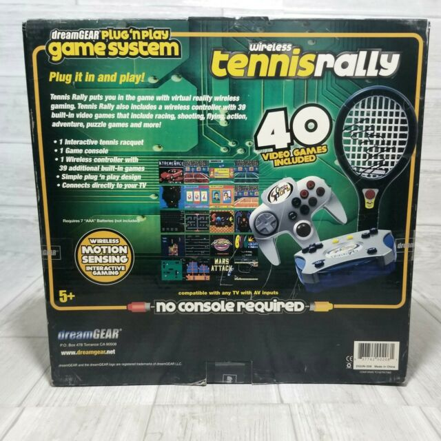 NEW TV Wireless Tennis Game System With 39 Games