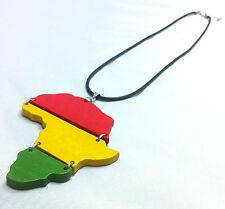 RASTA Africa Necklace One Love Colors Irie Reggae Marley Jamaica African Chain