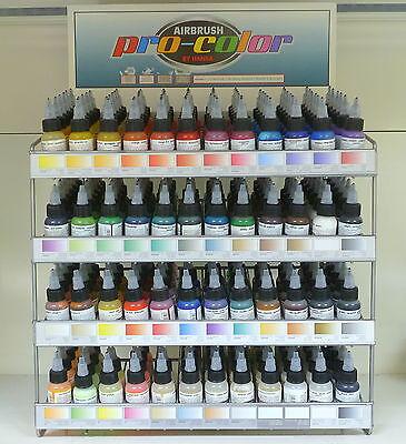 Scegli Il Colore Professional Design Audacious Colori Per Aerografo Hansa Pro-color Crafts