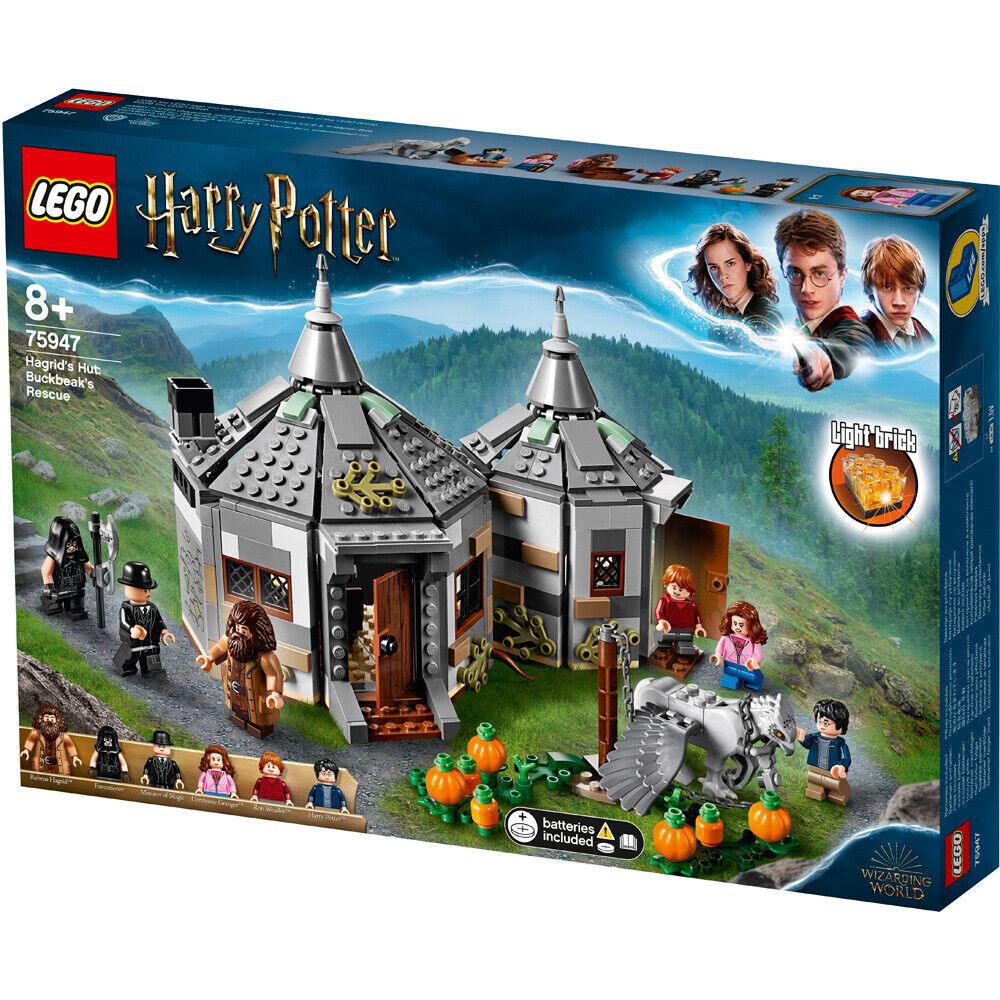 risparmia fino al 70% LEGO Harry Potter Potter Potter Hagrid CAPANNA-fierobecco Rescue costruzione Set - 75947  miglior servizio