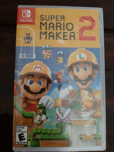 Brand New & Sealed - Super Mario Maker 2 Nintendo Switch
