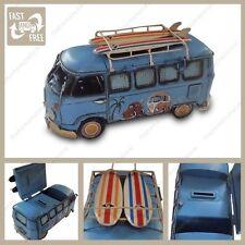 1966 VW camper van money box money saving tin piggy bank Kombi Van Photo Holder