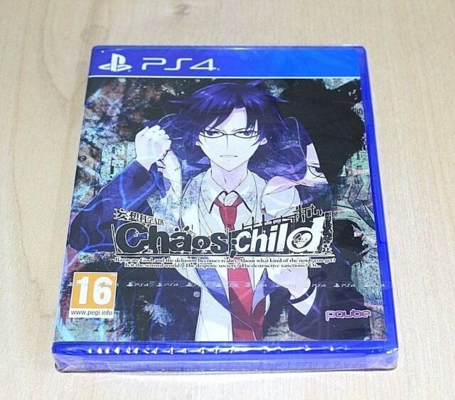 NEW Chaos Child Game PS4 Playstation 4 UK  Pal