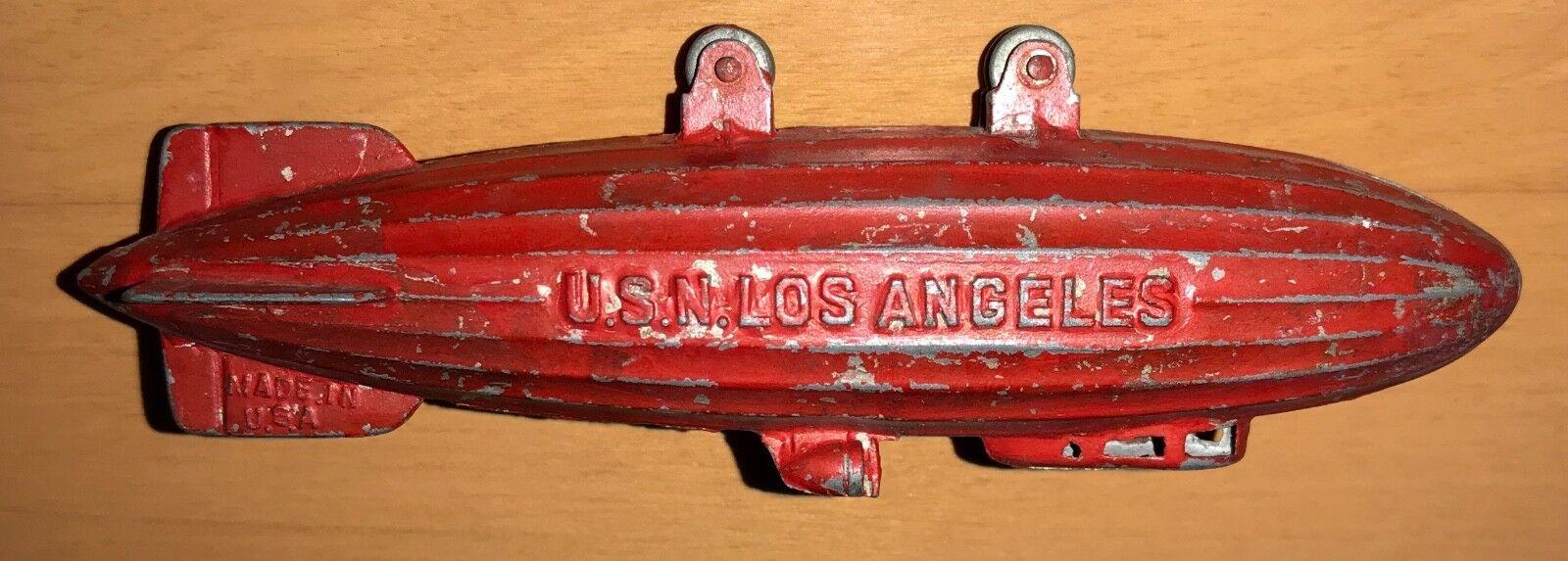 preferente Tootsietoy USN los los los Angeles dirigible dirigible C. década de 2018 Vintage  clásico atemporal