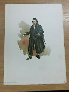 1895-CHARLES-DICKENS-034-MR-WHACKFORD-SQUEERS-034-WATERCOLOUR-PAINTING-PRINT-BY-034-KYD-034