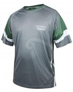 eb6787e1bbd Image is loading GUINNESS-Beer-Irish-Green-amp-Grey-Signature-Performance-