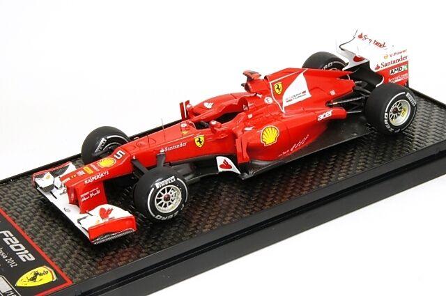 1 43 BBR Ferrari F2012  GP Malasya  nº 5 Fernando Alonso 2012 MEGA RARE NEW