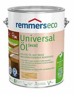 €12/L Spar Tip REMMERS Universal Öl Eco Farblos Pflege Möbel Oel Bangkirai Teak