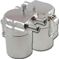 ADD W1 Polish Baffled Universal Aluminum Oil Catch Can Reservoir Tank Ver.1