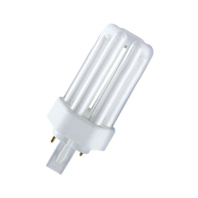 Osram Ampoule Compacte Fluorescente Dulux T Plus - GX24d,830 Blanc Chaud - 26W -