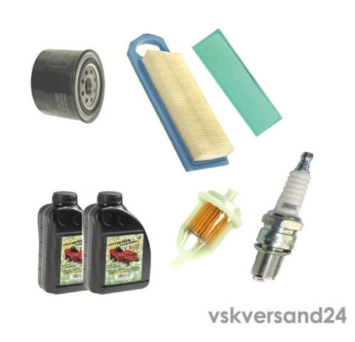 SERVICE KIT Luftfilter Zündkerze für Briggs/&Stratton12,5 //13,5 HP 219707 219807