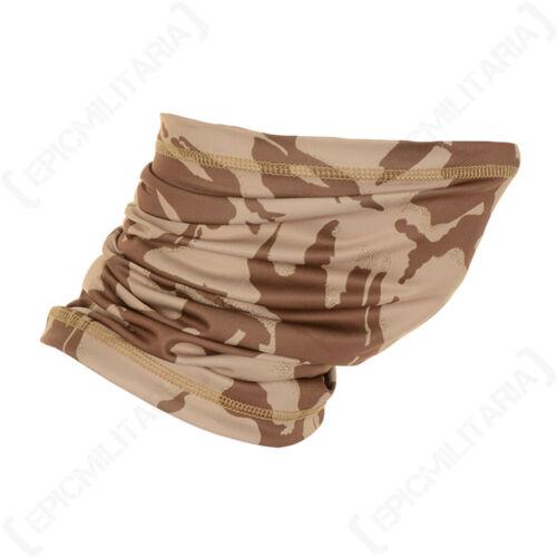 Neck Scarf Desert Camouflage Multi-Function Gaiter Balaclava Camping Face Mask