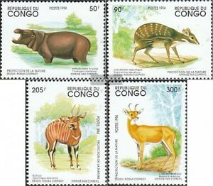 Congo Unmounted Mint / Never Hinged 19 Exquisite Craftsmanship; complete.issue. 1421-1424 brazzaville