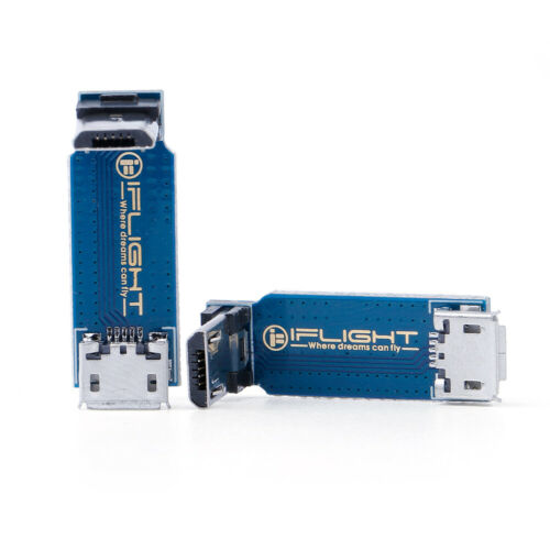 iFlight 90 Degrees Right Angle Micro USB Adapter Board DIY FPV Racing Drone