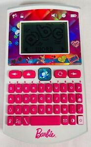 Barbie-Pink-Handheld-Electronic-Pocket-Learner-Oregon-Scientific-Xplore-Ages-3