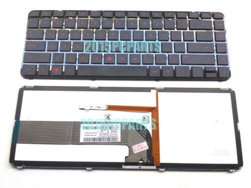 New HP Pavilion DM4-3000 DM4-3100 DM4T-3000 Keyboard backlit US Red Charaters