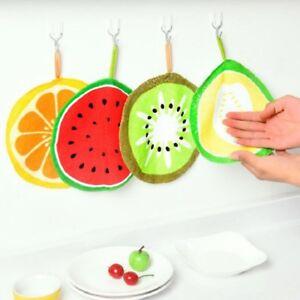 Creative-Fruit-Print-Kitchen-Hand-Towel-Microfiber-Towel-Cleaning-Rag-Dishcloth