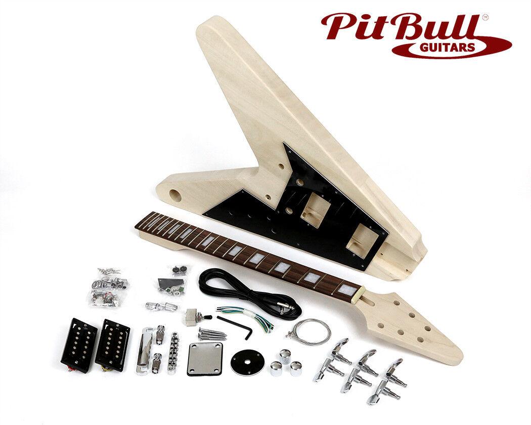 Pit Bull Guitars FV-1 Electric Guitar Kit