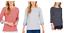 Nautica-Women-Ladies-039-3-4-Cuff-Sleeve-Classic-Casual-Top-Blouse-S-M-XL thumbnail 1