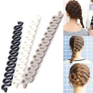 Fish Bone Hair Braiding French Braid Tool Roller Magic ...