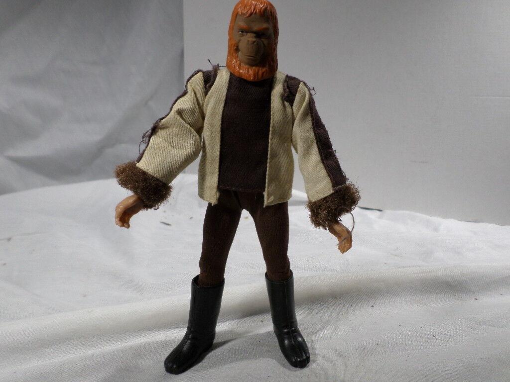 Vintage Mego Planet of the Apes POTA Dr. Zaius 8  Figure w/3-Toe Stivali
