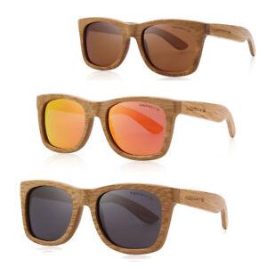 Occhiali-sole-montatura-VERO-LEGNO-unisex-uomo-donna-lenti-polarizzate-MERRY-039-S
