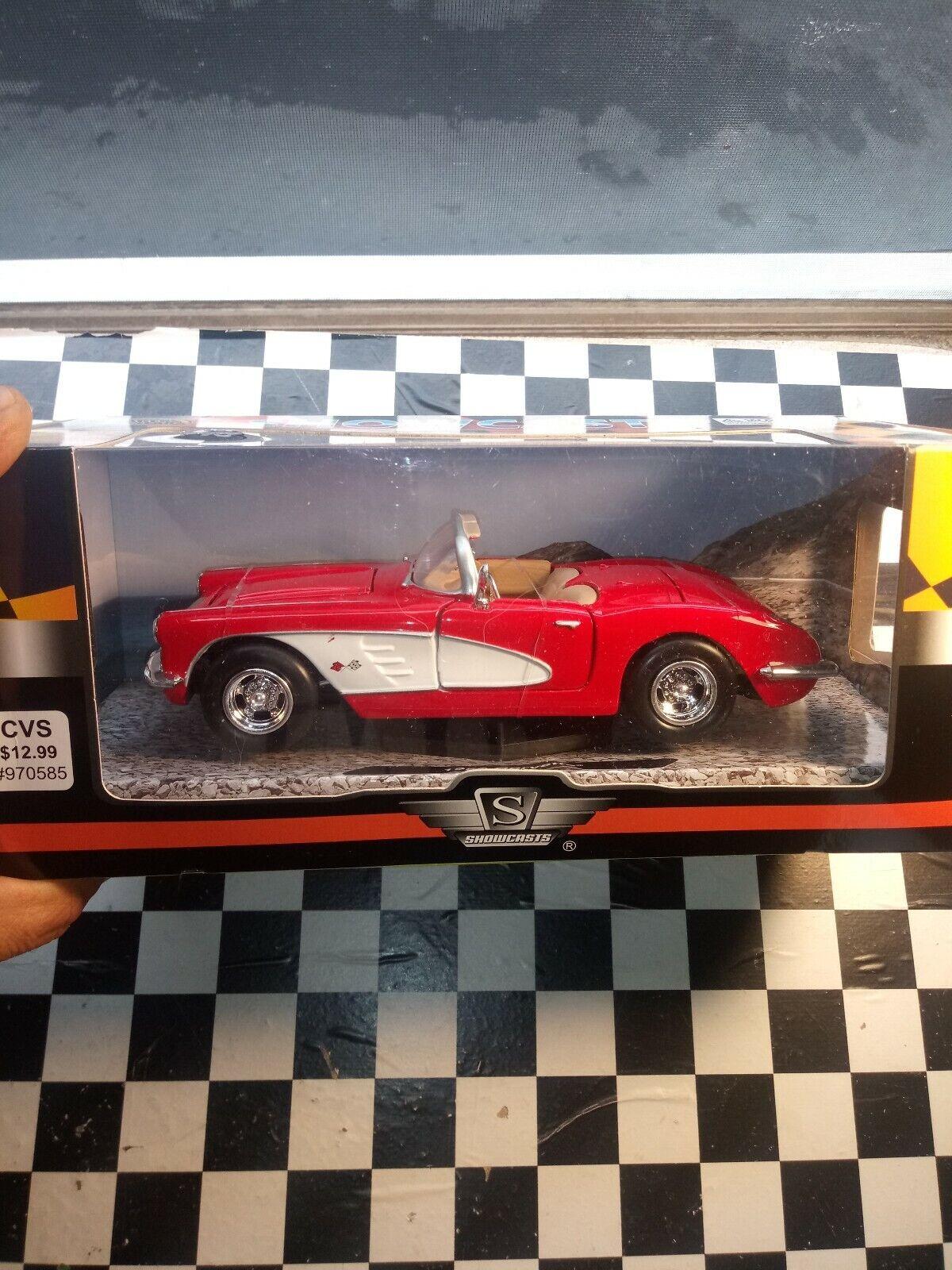 Die Cast 1959 Corvette-1 24 Scale by Showcasts-