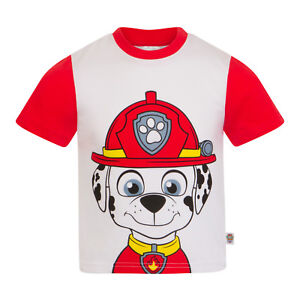 T-shirts & Tops Frank Paw Patrol Official Gift Boys Kids Character T-shirt Rocky Chase Rubble Skye Fine Quality