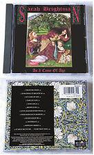 SARAH BRIGHTMAN As I Come Of Age . 1990 Polydor CD (Misprint: No printing on CD)