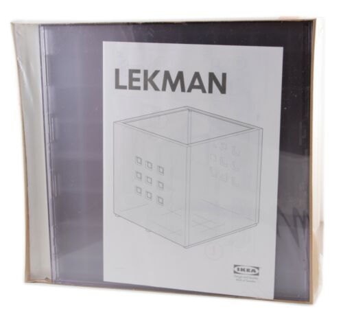 IKEA Lekman Box BLAU weiß ROT Kallax Expedit Regal REGALEINSATZ Kiste NEU+OVP