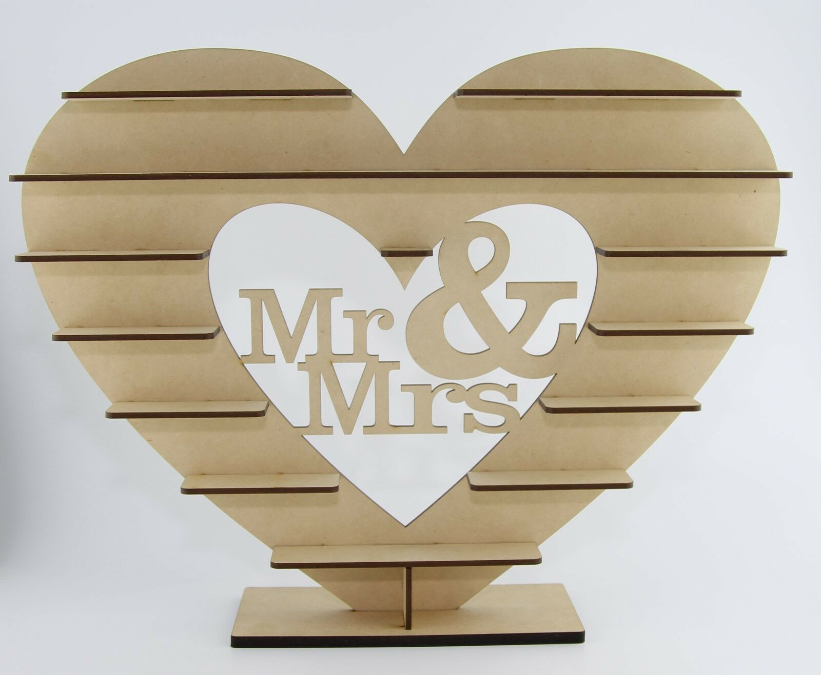 10x mr & Mme  FOR Ferrero Rocher-Heart-TREE-Wedding Display or Centrepiece
