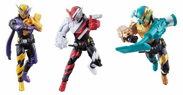 Kamen Rider Build Bottle change Rider 04 & 05 & 06 NinNin Fire Hedgehog Lion Set