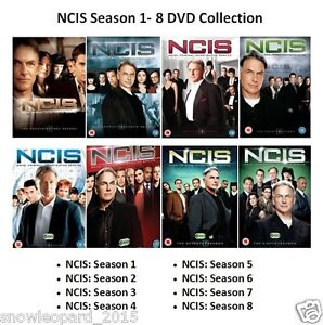 Details about NCIS COMPLETE SERIES 1 2 3 4 5 6 7 8 DVD Set Collection All  Episodes Season Box