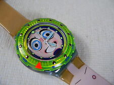 1996 Scuba  Swatch Watch Stripp SDN120PACK Collector club special