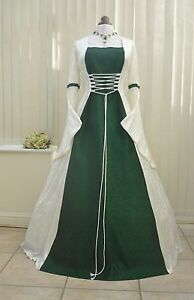 Meval Renaissance Celtic Wedding Dress Pagan Handfasting Gown