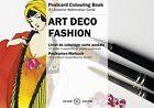 Art Deco Fashion: Postcard Colouring Book von Pepin van Roojen (2015, Gebunden)