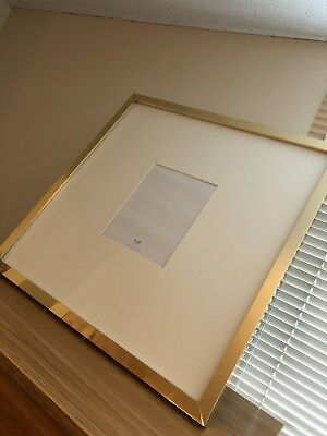 8x10 Gold Picture Frame Pottery Barn Great Condition