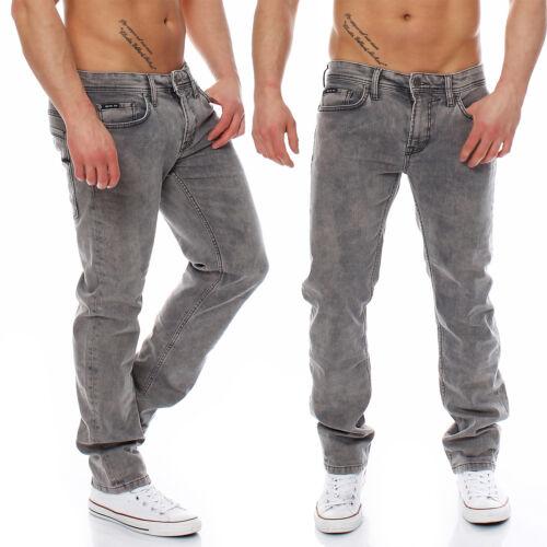 Big SEVEN-Jake-Denver WASH-Regular-Super Stretch-Jeans Uomo Pantaloni Nuovo
