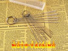 For Kawasaki Carburetor Carbon Dirt Jet Remove Cleaning Needle + Brush Tool Kits